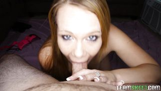 Pungent blond maiden Shani Reid is getting banged the way no one ever fucked her previous to and enjoying it a lot