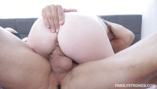 Elegant whore Karlie Brooks is quick to strip for the fucking she anticipates
