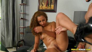 Naughty young latin girl Janessa is wild and incredible and very delicious