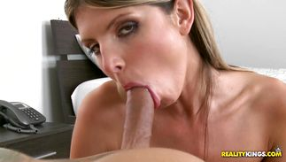 Inviting Gina Gerson gets roughly doggy styled