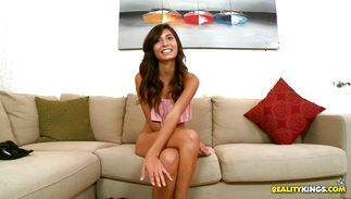 Outstanding exotic Kimberly Costa loves lover's raging sclhong unfathomable in her twat