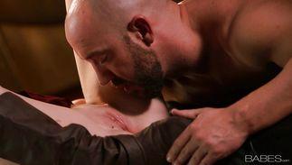 Tempting Stacie Jaxxx seduces a lewd wild boyfriend