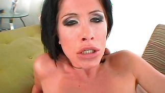 Hot-tempered cutie Randi is fascinating lover