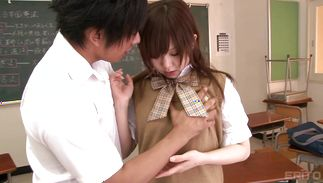 Worshipped Miku Airi hot enjoys deep dicking from her brawny boyfriend