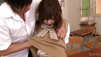 Worshipped Miku Airi hot enjoys deep dicking from her brawny boyfriend