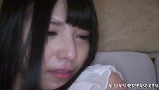 Glorious woman Ai Uehara gets banged on the balcony with excellent view