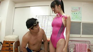 Prurient Tsubomi is fucking playmate 'coz she likes his hard fuck stick
