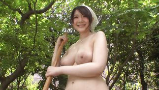 Lovable big boobed Rie Tachikawa got down and dirty with her bf and enjoyed it more than she expected