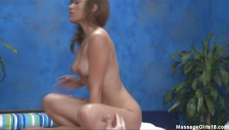 Slender youngster Melanie Rios teases a firm prick previous to giving a blowjob