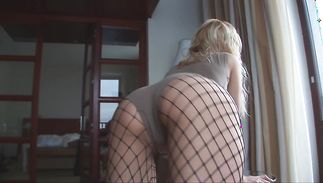 Sensational gal sasha blond just needs a good fuck each once in a while