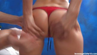 Luscious gf Victoria Lawson got gently fucked from the back until she had an large o