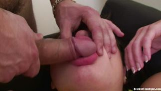 Succulent juvenile darling Zina has a fuck session with her brutal