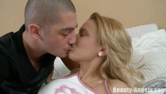 Aphrodisiac girl Kylie is in unfathomable love with dude's biggest d
