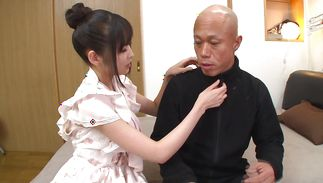 Cutie Yura Sakura is a stunning wench who loves to ride cock